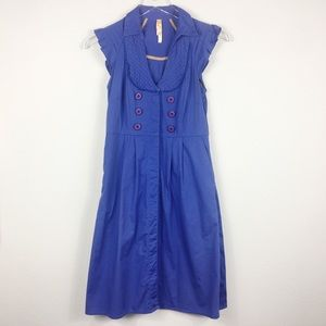 Maeve | Vintage Blue Dress | 2